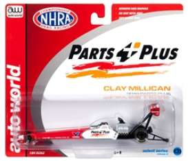 Dragster  - Clay Millican 2019 red/white - 1:64 - Auto World - awsp026 - AWSP026 | The Diecast Company