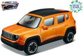 Jeep  - orange - 1:43 - Bburago - 30385 - bura30385sntp | The Diecast Company