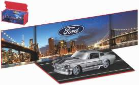 Ford  - Mustang grey/black - 1:64 - Bburago - 59123 - bura59123 | The Diecast Company