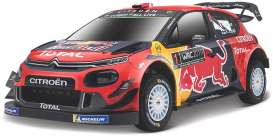 Citroen  - WRT 2019 red/blue/yellow - 1:32 - Bburago - 41054 - bura41054 | The Diecast Company