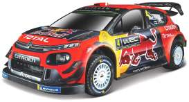 Citroen  - WRT 2019 red/blue/yellow - 1:32 - Bburago - 41053 - bura41053 | The Diecast Company