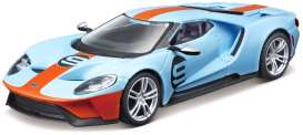 Ford  - blue/orange - 1:32 - Bburago - 42028 - bura42028 | The Diecast Company