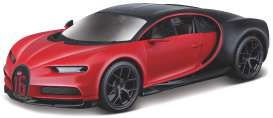 Bugatti  - red - 1:32 - Bburago - 42029 - bura42029 | The Diecast Company