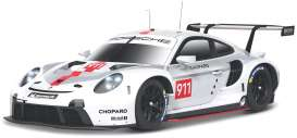 Porsche  - 911 white/grey/red - 1:43 - Bburago - 38048 - bura38048 | The Diecast Company