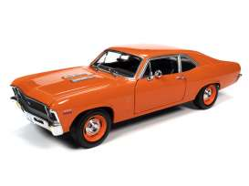 Chevrolet  - Nova SS 396 1970 orange - 1:18 - Auto World - AMM1226 - AMM1226 | The Diecast Company