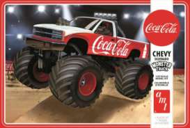 Chevrolet  - Silverado Monster Truck  - 1:25 - AMT - s1184 - amts1184 | The Diecast Company