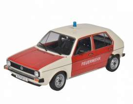 Volkswagen  - Golf 1983 white/red - 1:18 - Solido - 1800205 - soli1800205 | The Diecast Company