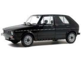 Volkswagen  - Golf 1983 black - 1:18 - Solido - 1800209 - soli1800209 | The Diecast Company