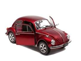 Volkswagen  - Beetle 1974 red - 1:18 - Solido - 1800512 - soli1800512 | The Diecast Company