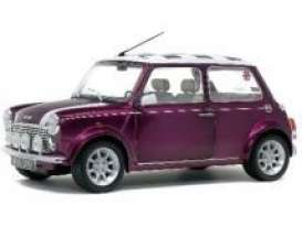 Mini  - Cooper 1997 purple - 1:18 - Solido - 1800606 - soli1800606 | The Diecast Company