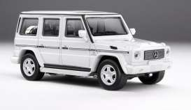 Mercedes Benz  - AMG G55 white - 1:64 - Kyosho - 7021G2 - kyo7021G2 | The Diecast Company