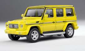 Mercedes Benz  - AMG G55 yellow - 1:64 - Kyosho - 7021G4 - kyo7021G4 | The Diecast Company