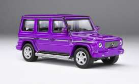 Mercedes Benz  - AMG G55 purple - 1:64 - Kyosho - 7021G7 - kyo7021G7 | The Diecast Company