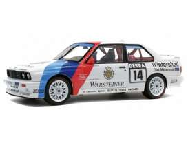 BMW  - M3 white/blue/red - 1:18 - Solido - 1185220 - soli1185220 | The Diecast Company