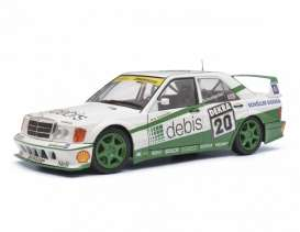 Mercedes Benz  - 190 E white/green - 1:18 - Solido - 1185230 - soli1185230 | The Diecast Company