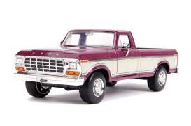 Ford  - F-100 1979 red/creme - 1:24 - Jada Toys - 31586 - jada31586 | The Diecast Company