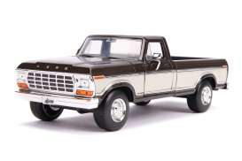 Ford  - F-100 1979 brown/creme - 1:24 - Jada Toys - 31588 - jada31588 | The Diecast Company