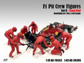 Figures diorama - 2020 red - 1:18 - American Diorama - 76553 - AD76553 | The Diecast Company