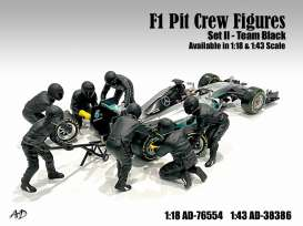 Figures diorama - 2020 silver - 1:43 - American Diorama - 38386 - AD38386 | The Diecast Company