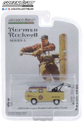 Volkswagen  - Type 2 1972 beige - 1:64 - GreenLight - 54040F - gl54040F | The Diecast Company