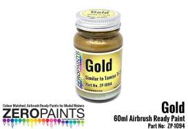 Zero Paints Paint - gold - Zero Paints - ZP-1094 - ZP1094 | The Diecast Company