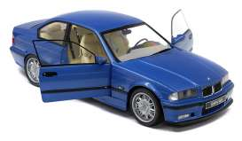 BMW  - E36 Coupe M3 1990 blue - 1:18 - Solido - 1803901 - soli1803901 | The Diecast Company