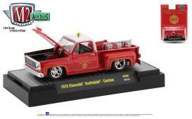 Chevrolet  - Scottsdale 1979 red/white - 1:64 - M2 Machines - 31500HS06 - M2-31500HS06 | The Diecast Company
