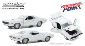 Dodge  - Challenger 1970 white - 1:18 - GreenLight - 13582 - gl13582 | The Diecast Company