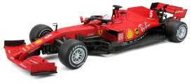 Ferrari  - F1 SF1000 #5 2020 red - 1:18 - Bburago - 16808V - bura16808V | The Diecast Company