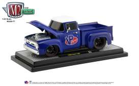 Ford  - F100 1956 blue/white - 1:24 - M2 Machines - 40300-77A - M2-40300-77A | The Diecast Company