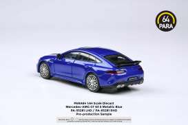 Mercedes Benz  - AMG GT63 S 2019 metallic blue - 1:64 - Para64 - 55281 - pa55281L | The Diecast Company
