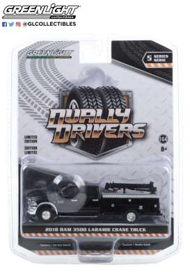 Ram  - 3500 2018 black - 1:64 - GreenLight - 46050B - gl46050B | The Diecast Company