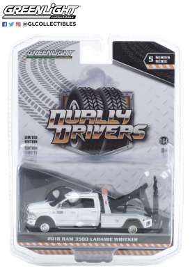 Ram  - 3500 2018 white - 1:64 - GreenLight - 46050C - gl46050C | The Diecast Company
