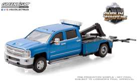 Chevrolet  - Silverado 2018 blue - 1:64 - GreenLight - 46050D - gl46050D | The Diecast Company
