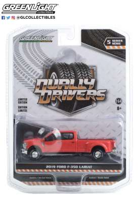 Ford  - F-350 2019 red - 1:64 - GreenLight - 46050E - gl46050E | The Diecast Company