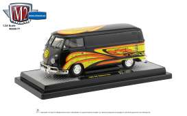Volkswagen  - 1960 black/yellow - 1:24 - M2 Machines - 40300-77B - M2-40300-77B | The Diecast Company