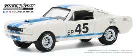 Shelby  - GT350R 1965 white - 1:64 - GreenLight - 28040A - gl28040A | The Diecast Company
