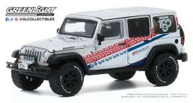 Jeep  - Wrangler 2015 silver - 1:64 - GreenLight - 28040C - gl28040C | The Diecast Company