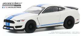 Ford Shelby - 2020 white/blue - 1:64 - GreenLight - 28040F - gl28040F | The Diecast Company