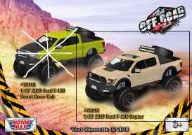 Ford  - F-150 Raptor *Off Road* 2019 beige - 1:27 - Motor Max - 79142 - mmax79142 | The Diecast Company