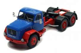 Magirus Deutz  - Jupiter blue/red - 1:43 - IXO Models - TR054 - ixTR054 | The Diecast Company