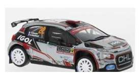 Citroen  - C3 2019 white/black/red - 1:43 - IXO Models - ram737 - ixram737 | The Diecast Company