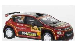 Citroen  - C3 2019 black/red - 1:43 - IXO Models - ram738 - ixram738 | The Diecast Company