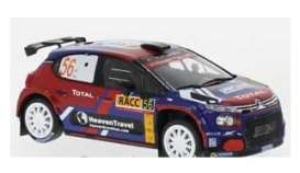 Citroen  - C3 2019 blue/red - 1:43 - IXO Models - ram739 - ixram739 | The Diecast Company
