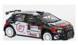 Citroen  - C3 2019 black/red/white - 1:43 - IXO Models - ram740 - ixram740 | The Diecast Company