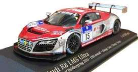 Audi  - R8 LMS 2015 white/red - 1:43 - Tarmac - 447150115 - Tarmac447150115 | The Diecast Company