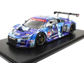 Audi  - R8 LMS 2016 blue/red/white - 1:18 - Tarmac - T18-004-CUP16EM - TarmacCUP16EM | The Diecast Company