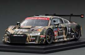 Audi  - R8 LMS 2016 black/camouflage - 1:18 - Tarmac - T18-004-CUP16GRN - TarmacCUP16GRN | The Diecast Company