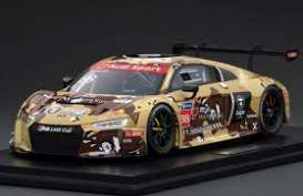 Audi  - R8 LMS 2016 brown/camouflage - 1:18 - Tarmac - T18-004-CUP16DST - TarmacCUP16DST | The Diecast Company