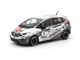 Honda  - Fit 3 RS 2017 white/black - 1:43 - Tarmac - T43-006-BR - Tarmac006-BR | The Diecast Company